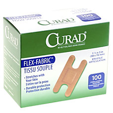 Medline Adhesive Knuckle Bandages 1 x
