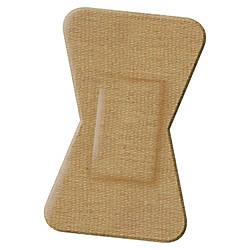 Medline Comfort Cloth Woven Fingertip Bandages
