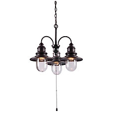Kenroy Home Broadcast Outdoor Chandelier 15