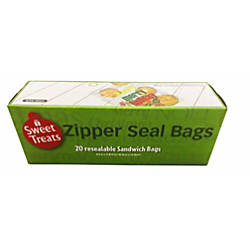 Incredible Novelties Holiday Zipper Seal Sandwich