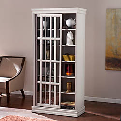 Southern Enterprises Mannheim Sliding Door Cabinet