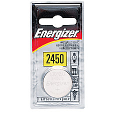 Energizer 3 Volt Lithium Battery 2450