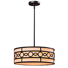 Kenroy Vista 3 Light Hanging Pendant