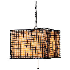 Kenroy Home Trellis Outdoor Hanging Pendant