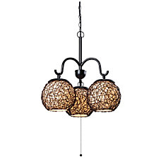 Kenroy Home Castillo Outdoor Hanging Chandelier