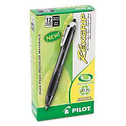 Pilot Rexgrip Begreen Ballpoint Pens Medium