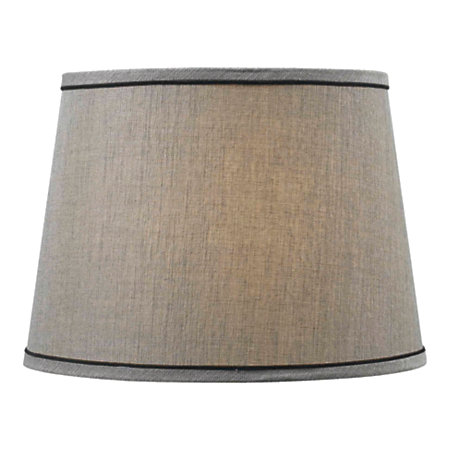 home fashion match fabric tapered drum lamp shade 11 h x 15 w. Black Bedroom Furniture Sets. Home Design Ideas