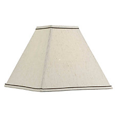 Kenroy Home Fabric Square Lamp Shade