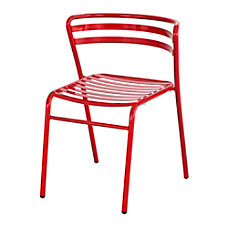 Safco CoGo IndoorOutdoor Chair Red Set