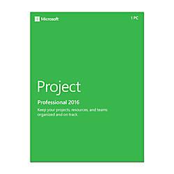 Microsoft Project Standard 2016 1 PC