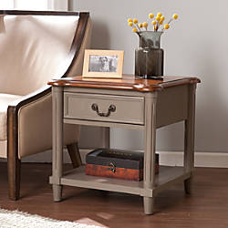 Southern Enterprises Devonshire End Table Square