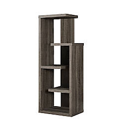 Monarch Specialties 5 Shelf Accent Bookcase