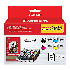 Canon PGI 220CLI 221 ChromaLife 100