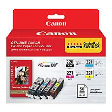 Canon PGI 220CLI 221 ChromaLife 100