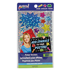 Artskills Sparkle Poster Stickers Assorted Colors