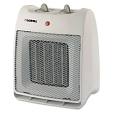 Lorell Adjustable Thermostat Ceramic Heater Ceramic