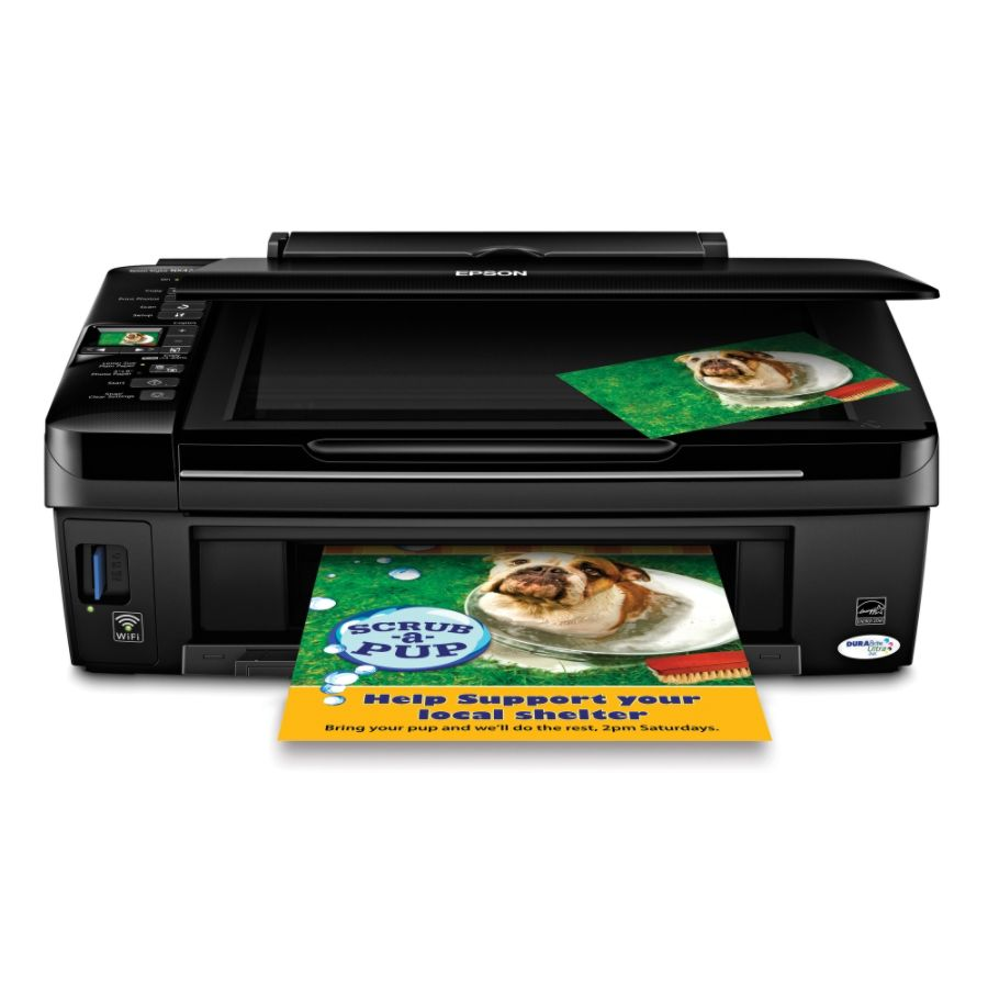 Color printing office depot - Epson Stylus Nx420 Wireless Color All In One Printer Copier Scanner By Office Depot Officemax