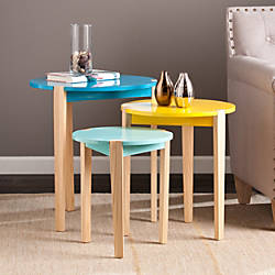 Southern Enterprises Quinby Accent Tables Assorted