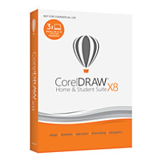 Corel CorelDRAW X8 Home Student Graphic