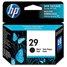 HP 29 Black Original Ink Cartridge