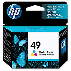 HP 49 Tricolor Original Ink Cartridge