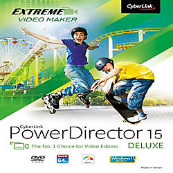 CyberLink PowerDirector 15 Deluxe For Windows