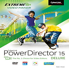 PowerDirector 15 Deluxe Download Version