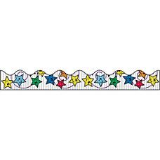 Bordette Decorative Border Stars Design 225