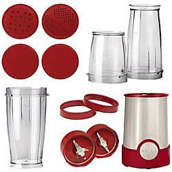 BELLA 12 Piece Rocket Blender Red
