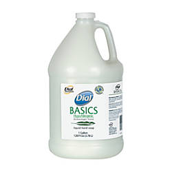 Dial Basics Hypoallergenic Liquid Soap Honeysuckle