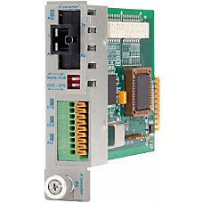 iConverter RS 232 Serial Single Fiber