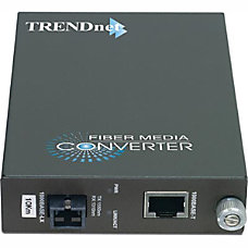 TRENDnet Intelligent TFC 1000S10D5 1000Base TX