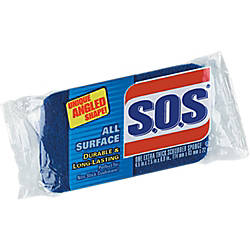 SOS All Surface Scrubber Sponge 25