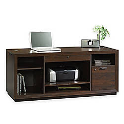 "Sauder® Forte Collection Credenza, 24 3/8""H x 59 1/8""W x 19 7/8""D, Dark Alder"