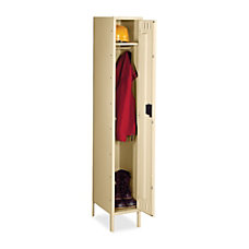 Tennsco Single Tier Locker With Legs