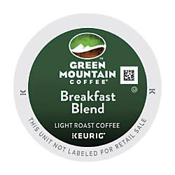 Green Mountain Breakfast Blend Coffee K