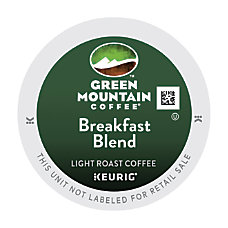 Green Mountain Coffee Breakfast Blend K