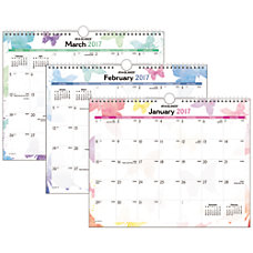 AT A GLANCE Wall Calendar 15
