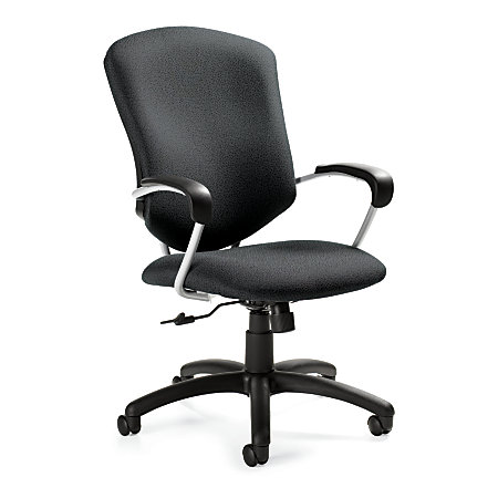 Global Supra High Back Tilter Task Chair 42 H X 26 W X 27 D Graphite By Offic