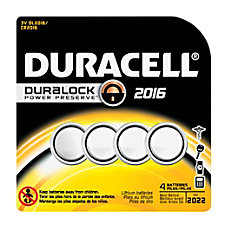 Duracell 3 Volt Lithium Coin Cell
