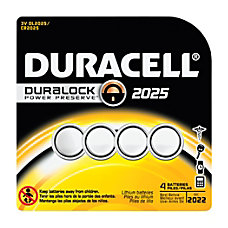 Duracell Button Cell Lithium 2025 Batteries