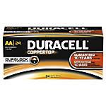 Duracell Coppertop AA Alkaline Batteries Box