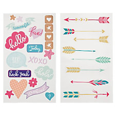 Divoga Sticker Sheets Conversational Assorted Designs
