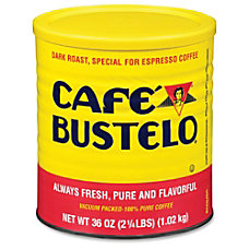 Caf eacute Bustelo Espresso Ground Coffee