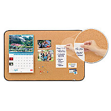 Post it Sticky Cork Board 22