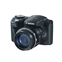 Canon PowerShot SX500 IS 16.0-Megapixel Digital Camera, Black