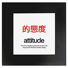 Seco Motivational Print Attitude 20 H