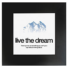 Seco Motivational Print Dream 20 H