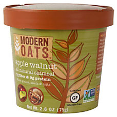 Modern Oats Oatmeal Cups Apple Walnut