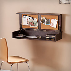 Southern Enterprises Lexford Wall Mount Desk